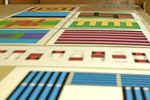 Studio für Serigrafie limitierte Auflage