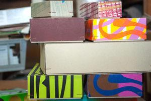 Studio für Serigrafie Kleinserie Kästchen von Kaiser Kartonagen